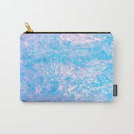 Opalescent Snake Skin Carry-All Pouch