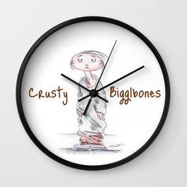 Crusty Bigglebones Wall Clock