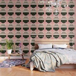 Budapest Bath House – Peach & Gold Palette Wallpaper