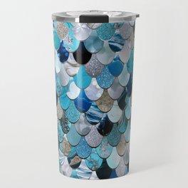 Mermaid Ocean Blue Travel Mug