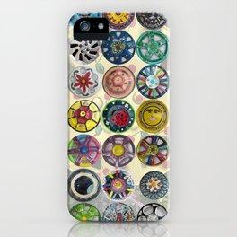 Hubcaps iPhone Case