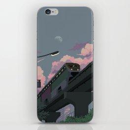 Moonrise Train iPhone Skin