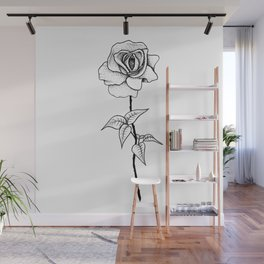 Lady Rose Wall Mural