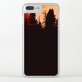 0353 Clear iPhone Case