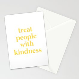 yellow tpwk Stationery Cards