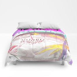 """""""Springterror"""" / Frontier Ruckus Song Illustrations, Series 1 (4/15) Comforters"""
