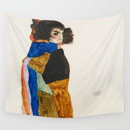 "Egon Schiele ""Moa"" Wall Tapestry"