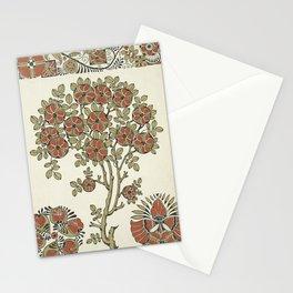 Ornate tree pattern Stationery Cards