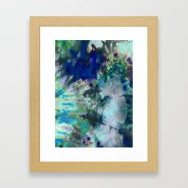 Magical Lily Pond Framed Art Print