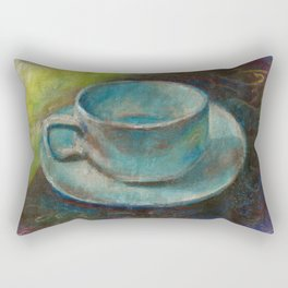 Time for tea. Rectangular Pillow