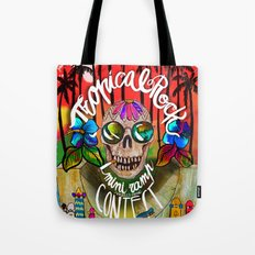 ....a Tropical sunset! Tote Bag