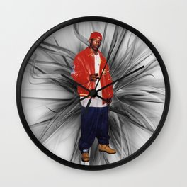 Big L  Wall Clock