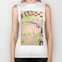 gravity falls Biker Tanks featuring Gravity Falls Quote by writingoverashes