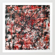 Imogene in Red Art Print