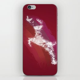 In Search Of Peace - (Maroon) iPhone Skin