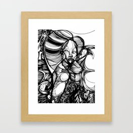 White Queen. 2013. Framed Art Print