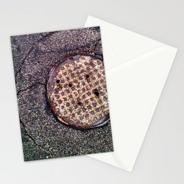 The sewer. Stationery Cards
