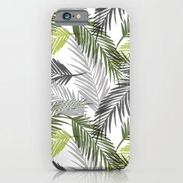 Palm tree leaf iPhone Case