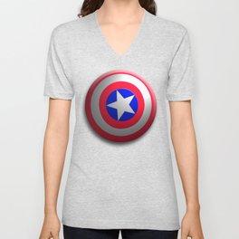 Capt. America Shield Unisex V-Neck
