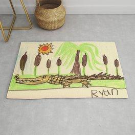 Crocodile Swamp Rug