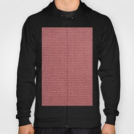 Woven Texture RED Quartz Hoody