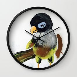 When You Are Royally Created, Baby Parrot Wall Clock