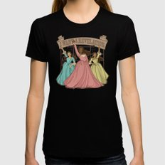 Revelation Womens Fitted Tee SMALL Black