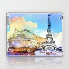 The boarding of the Eiffel Tower Laptop & iPad Skin