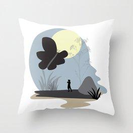 Be amazed Throw Pillow