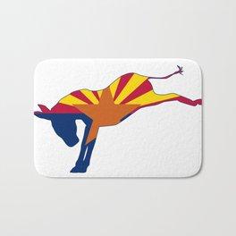 Arizona Republican Donkey Flag Bath Mat