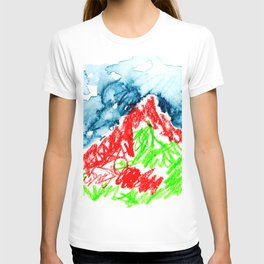 up to the hill T-shirt