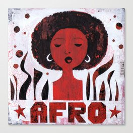 *AFRO* Canvas Print