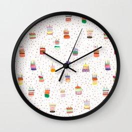 Birthday Cakes! Wall Clock