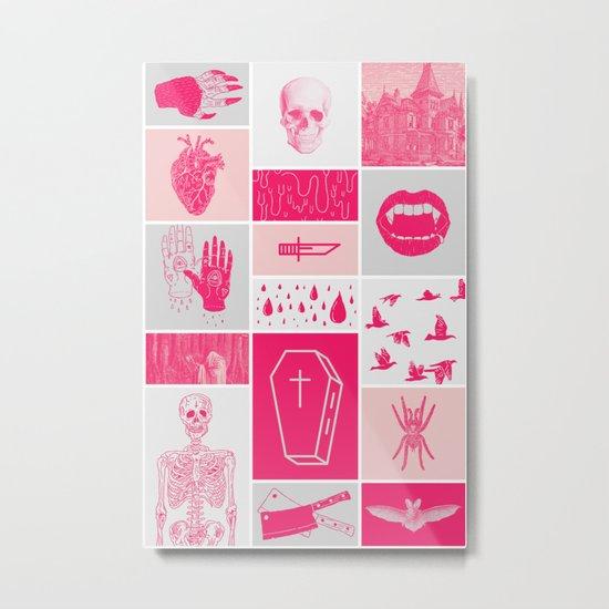 Fright Delight Metal Print
