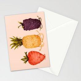 fruit yoga Stationery Cards
