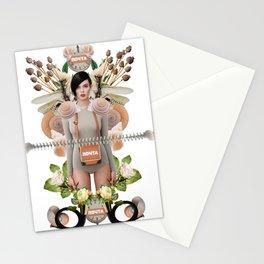 Nude Flowers by Lenka Laskoradova Stationery Cards