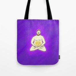 Yoga Pizza Tote Bag
