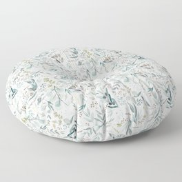 Little Eucalyptus Floor Pillow