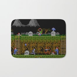 Ghost And Goblins Gameplay Bath Mat