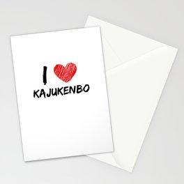 I Love Kajukenbo Stationery Cards