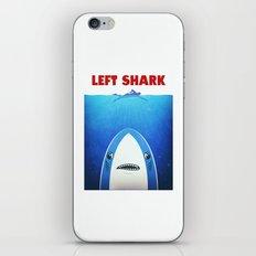 Left Shark Parody - Jaws - Funny Movie / Meme Humor iPhone & iPod Skin