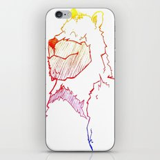 Bear Color iPhone & iPod Skin