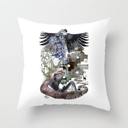 Vidas Throw Pillow