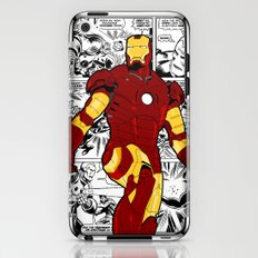 Iron Man Comic iPhone & iPod Skin