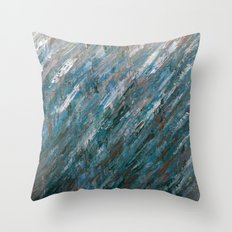 Brushed Aside Throw Pillow