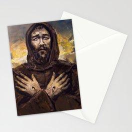 Francisco receiving The Stigmas Stationery Cards