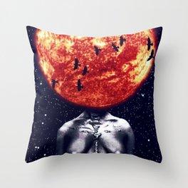 Sun Mama Throw Pillow