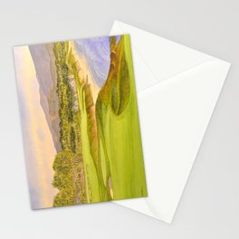Pebble Beach Golf Course Holes 9 and 10 Stationery Cards