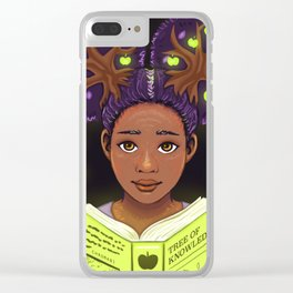 Trees of Knowledge Clear iPhone Case