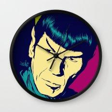 Spock Logic Wall Clock
